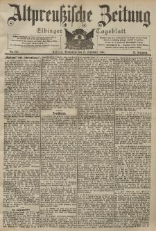 Altpreussische Zeitung, Nr. 214 Sonnabend 12 September 1903, 55. Jahrgang
