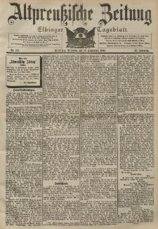 Altpreussische Zeitung, Nr. 217 Mittwoch 16 September 1903, 55. Jahrgang