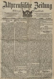 Altpreussische Zeitung, Nr. 221 Sonntag 20 September 1903, 55. Jahrgang