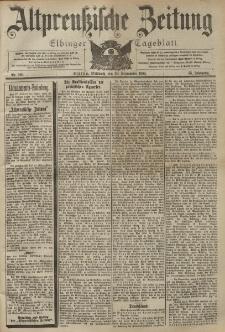 Altpreussische Zeitung, Nr. 229 Mittwoch 30 September 1903, 55. Jahrgang