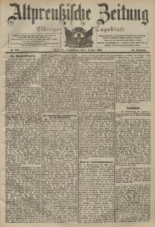 Altpreussische Zeitung, Nr. 230 Donnerstag 1 Oktober 1903, 55. Jahrgang