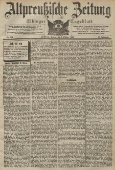 Altpreussische Zeitung, Nr. 231 Freitag 2 Oktober 1903, 55. Jahrgang