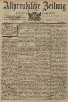 Altpreussische Zeitung, Nr. 232 Sonnabend 3 Oktober 1903, 55. Jahrgang