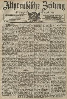 Altpreussische Zeitung, Nr. 234 Dienstag 6 Oktober 1903, 55. Jahrgang