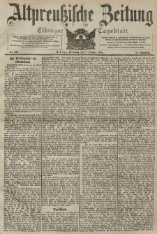 Altpreussische Zeitung, Nr. 235 Mittwoch 7 Oktober 1903, 55. Jahrgang