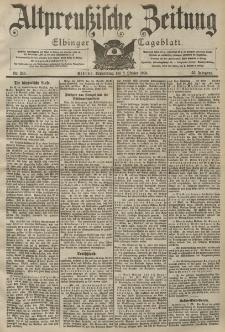 Altpreussische Zeitung, Nr. 236 Donnerstag 8 Oktober 1903, 55. Jahrgang