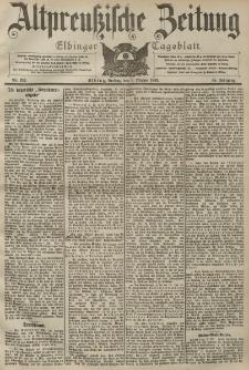 Altpreussische Zeitung, Nr. 237 Freitag 9 Oktober 1903, 55. Jahrgang