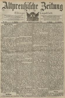 Altpreussische Zeitung, Nr. 239 Sonntag 11 Oktober 1903, 55. Jahrgang