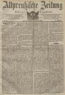 Altpreussische Zeitung, Nr. 240 Dienstag 12 Oktober 1903, 55. Jahrgang