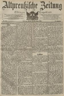 Altpreussische Zeitung, Nr. 243 Freitag 16 Oktober 1903, 55. Jahrgang