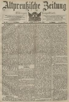 Altpreussische Zeitung, Nr. 245 Sonntag 18 Oktober 1903, 55. Jahrgang