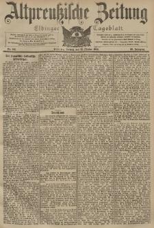 Altpreussische Zeitung, Nr. 249 Freitag 23 Oktober 1903, 55. Jahrgang
