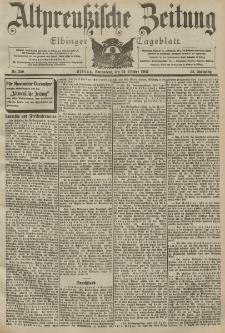 Altpreussische Zeitung, Nr. 250 Sonnabend 24 Oktober 1903, 55. Jahrgang