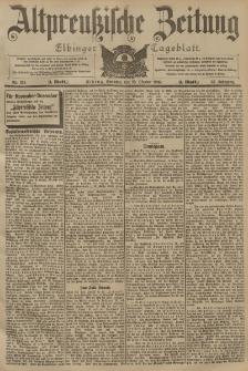 Altpreussische Zeitung, Nr. 251 Sonntag 25 Oktober 1903, 55. Jahrgang