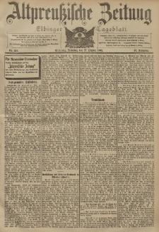 Altpreussische Zeitung, Nr. 252 Dienstag 27 Oktober 1903, 55. Jahrgang
