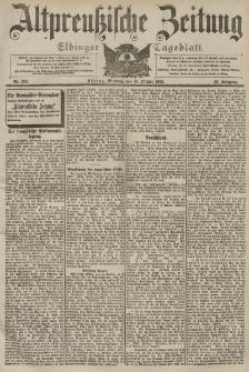 Altpreussische Zeitung, Nr. 253 Mittwoch 28 Oktober 1903, 55. Jahrgang