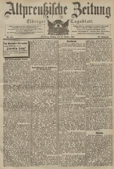 Altpreussische Zeitung, Nr. 255 Freitag 30 Oktober 1903, 55. Jahrgang