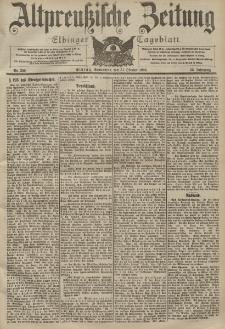Altpreussische Zeitung, Nr. 256 Sonnabend 31 Oktober 1903, 55. Jahrgang