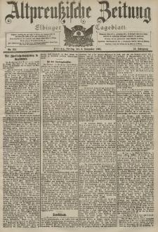 Altpreussische Zeitung, Nr. 261 Freitag 6 November 1903, 55. Jahrgang