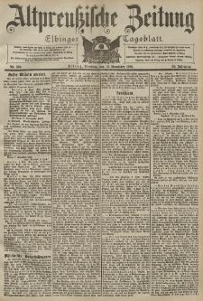 Altpreussische Zeitung, Nr. 264 Dienstag 10 November 1903, 55. Jahrgang