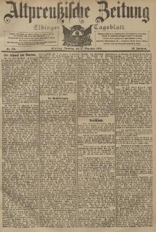 Altpreussische Zeitung, Nr. 270 Dienstag 17 November 1903, 55. Jahrgang