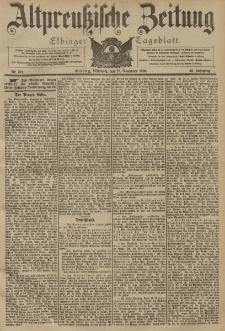 Altpreussische Zeitung, Nr. 271 Mittwoch 18 November 1903, 55. Jahrgang