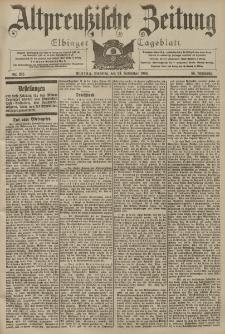 Altpreussische Zeitung, Nr. 274 Sonntag 22 November 1903, 55. Jahrgang