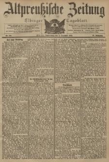 Altpreussische Zeitung, Nr. 283 Donnerstag 3 Dezember 1903, 55. Jahrgang