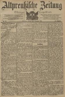 Altpreussische Zeitung, Nr. 284 Freitag 4 Dezember 1903, 55. Jahrgang