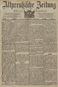 Altpreussische Zeitung, Nr. 285 Sonnabend 5 Dezember 1903, 55. Jahrgang