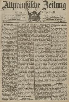 Altpreussische Zeitung, Nr. 288 Mittwoch 9 Dezember 1903, 55. Jahrgang