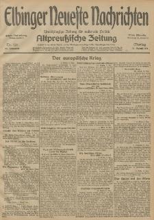 Elbinger Neueste Nachrichten, Nr. 224 Montag 17 August 1914 66. Jahrgang