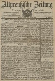 Altpreussische Zeitung, Nr. 293 Dienstag 15 Dezember 1903, 55. Jahrgang