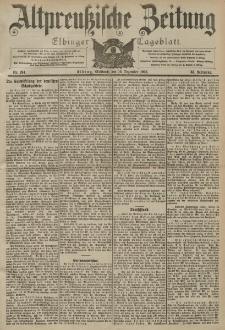 Altpreussische Zeitung, Nr. 294 Mittwoch 16 Dezember 1903, 55. Jahrgang