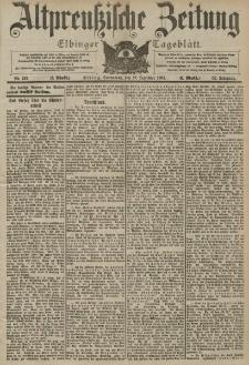 Altpreussische Zeitung, Nr. 297 Sonnabend 19 Dezember 1903, 55. Jahrgang