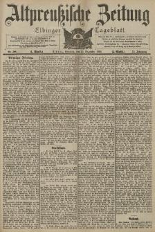 Altpreussische Zeitung, Nr. 298 Sonntag 20 Dezember 1903, 55. Jahrgang