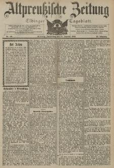 Altpreussische Zeitung, Nr. 301 Donnerstag 24 Dezember 1903, 55. Jahrgang