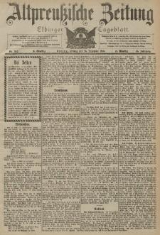 Altpreussische Zeitung, Nr. 302 Freitag 25 Dezember 1903, 55. Jahrgang