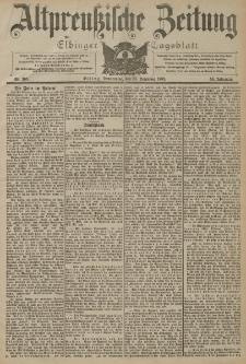 Altpreussische Zeitung, Nr. 305 Donnerstag 31 Dezember 1903, 55. Jahrgang