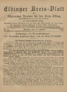 Kreis-Blatt des Königlich Preußischen Landraths-Amtes zu Elbing, Nr. 8 Dienstag 29 Januar 1895