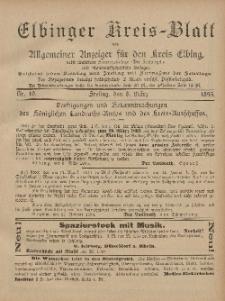Kreis-Blatt des Königlich Preußischen Landraths-Amtes zu Elbing, Nr. 19 Freitag 8 März 1895