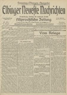 Elbinger Neueste Nachrichten, Nr. 244 Sonntag 6 September 1914 66. Jahrgang