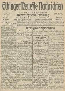 Elbinger Neueste Nachrichten, Nr. 246 Dienstag 8 September 1914 66. Jahrgang