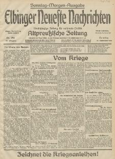 Elbinger Neueste Nachrichten, Nr. 251 Sonntag 13 September 1914 66. Jahrgang