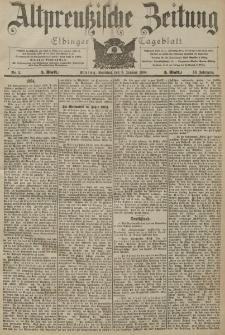 Altpreussische Zeitung, Nr. 2 Sonntag 3 Januar 1904, 56. Jahrgang