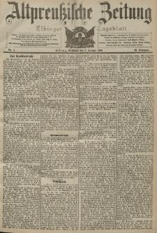 Altpreussische Zeitung, Nr. 4 Mittwoch 6 Januar 1904, 56. Jahrgang
