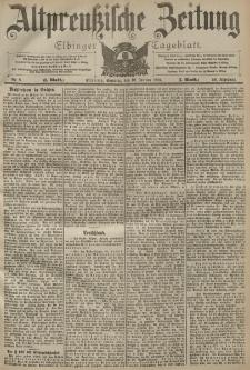 Altpreussische Zeitung, Nr. 8 Sonntag 10 Januar 1904, 56. Jahrgang