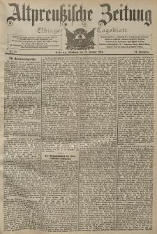 Altpreussische Zeitung, Nr. 10 Mittwoch 13 Januar 1904, 56. Jahrgang