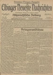 Elbinger Neueste Nachrichten, Nr. 265 Sonntag 27 September 1914 66. Jahrgang