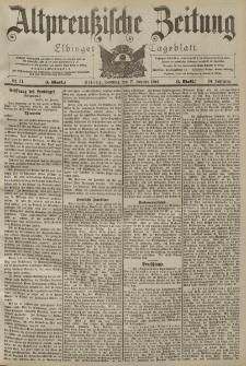 Altpreussische Zeitung, Nr. 14 Sonntag 17 Januar 1904, 56. Jahrgang